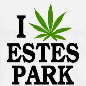 I Love Marijuana Estes Park Colorado T-Shirt - Men's Premium T-Shirt