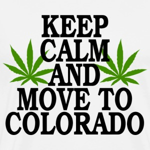 Keep Calm And Move To Colorado - Men's Premium T-Shirt