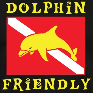 SCUBA Dolphin Friendly  T-Shirt - Men's Premium T-Shirt