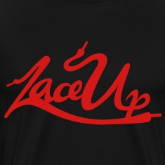 Lace Up Vector T-Shirts