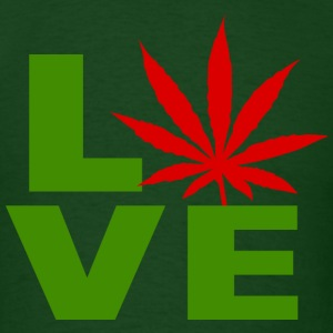 i Love Marijuana Canada T-Shirt - Men's T-Shirt