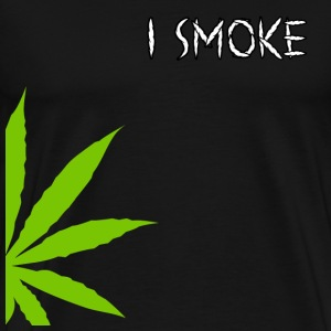 I Smoke Marijuana T-Shirt - Men's Premium T-Shirt