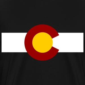 vintage colorado T-Shirts - Men's Premium T-Shirt