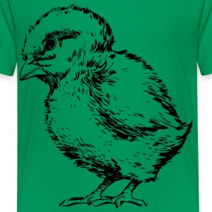 Chick Outlined - Kids' Premium T-Shirt