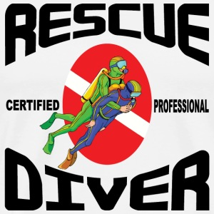 Rescue Diver T-Shirt - Men's Premium T-Shirt