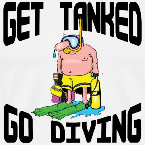 Funny SCUBA Diving  T-Shirt - Men's Premium T-Shirt