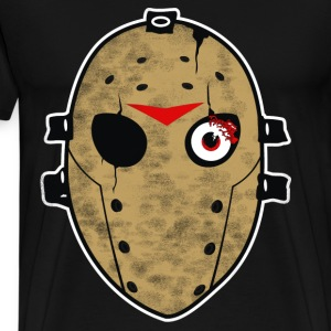 Halloween Hockey Mask T Shirt - Men's Premium T-Shirt