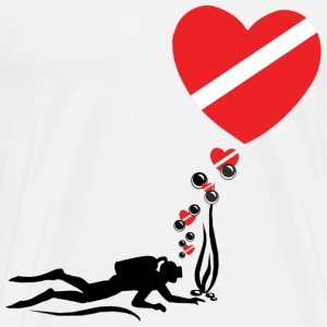 Love SCUBA T-Shirt - Men's Premium T-Shirt