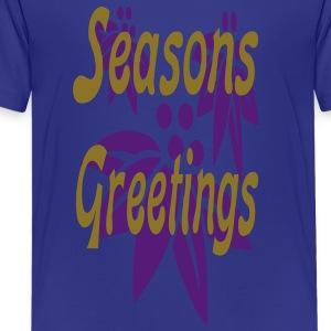 seasons_greetings3 Kids' Shirts - Kids' Premium T-Shirt