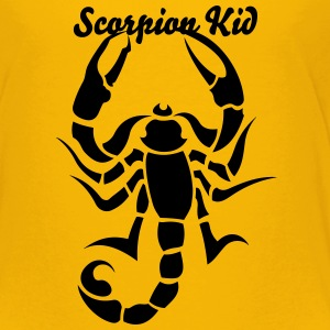 Scorpion Tribal Tattoo 2 Kids' Shirts - Kids' Premium T-Shirt