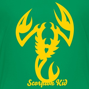Scorpion Tribal Tattoo 3 Kids' Shirts - Kids' Premium T-Shirt