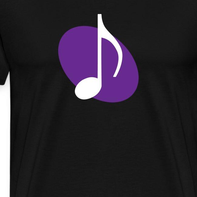 Purple Music Emblem