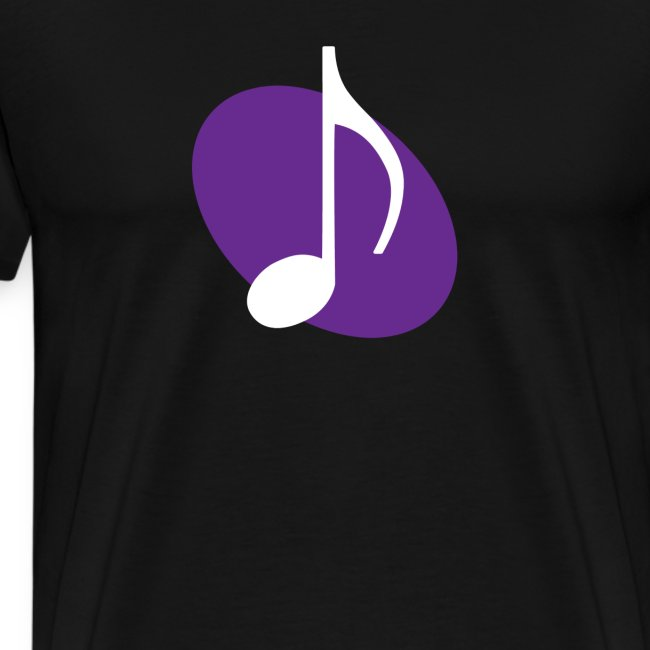 Purple Music Emblem