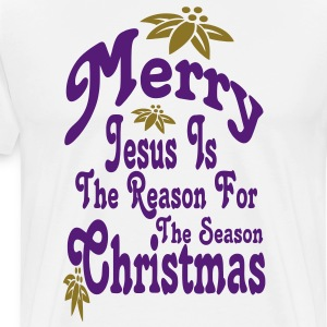 jesus_is_the_reason_for_the_season2 T-Shirts - Men's Premium T-Shirt