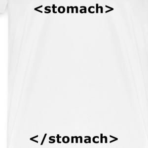 Stomach HTML T-shirt - Men's Premium T-Shirt