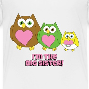 Bigger sister - Toddler Premium T-Shirt