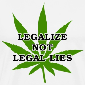 Legalize Marijuana T-Shirt - Men's Premium T-Shirt