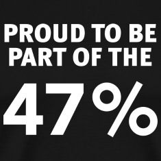 Proud to be the 47 Percent Shirt