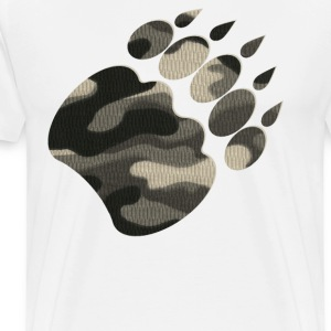 CAMO BEAR T-Shirts - Men's Premium T-Shirt