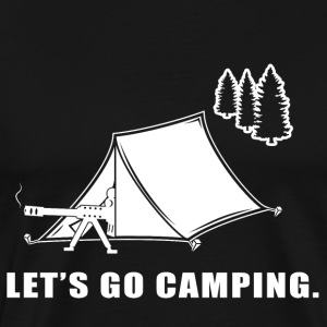 Let's Go Camping - Men's Premium T-Shirt
