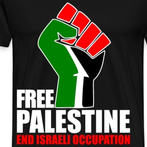 Free Palestine end Israeli Occupation T-Shirts - Men's Premium T-Shirt