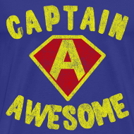 Design ~ Captain Awesome T-Shirt