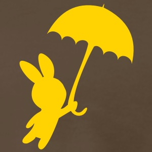 Umbrella flying bunny T-Shirts - Men's Premium T-Shirt