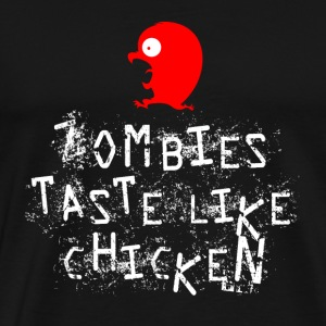 Zombie Chicken - Men's Premium T-Shirt