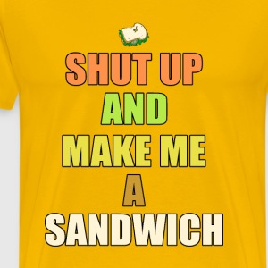 Make me a sandwich - Men's Premium T-Shirt