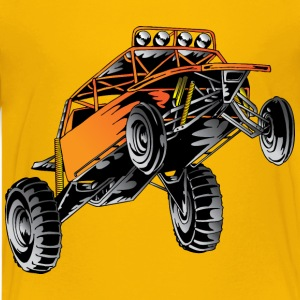 Orange Race Desert Buggy Kids' Shirts - Kids' Premium T-Shirt