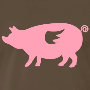 When Pigs Fly - Men's Premium T-Shirt