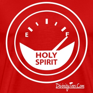 Holy Spirit is Full Design - Men's Premium T-Shirt