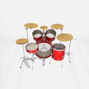 Red Drum Kit: T-Shirt - Men's Premium T-Shirt
