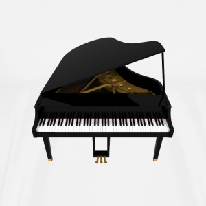 Grand Piano: T-Shirt - Men's Premium T-Shirt