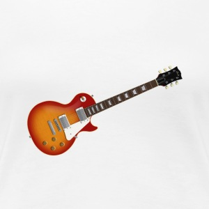 Sunburst Electric Guitar: Women's Classic T-Shirt - Women's Premium T-Shirt