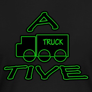 A-TRUCK-TIVE funny attractive T-shirt - Women's Premium T-Shirt