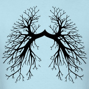 Lungs - Men's T-Shirt