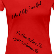 Design ~ You are a Gift Womens Shirt