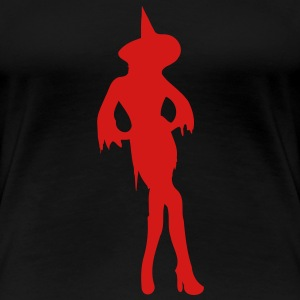 sexy witch - Women's Premium T-Shirt