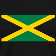 Jamaican flag in two colours T-Shirts