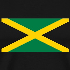 Jamaican flag in two colours T-Shirts - Men's Premium T-Shirt