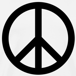 Peace Sign T-Shirts - Men's Premium T-Shirt