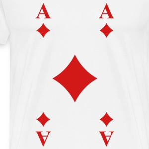 Ace of Diamonds T-Shirts - Men's Premium T-Shirt
