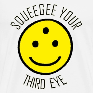 Squeegee Your Third Eye - Men's Premium T-Shirt