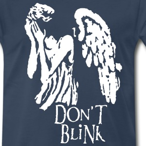 don't blink T-Shirts - Men's Premium T-Shirt