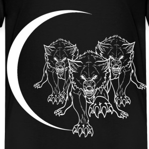 wolf_pack_vector_white Baby & Toddler Shirts - Toddler Premium T-Shirt