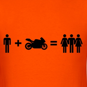 Motorbiker & Women T-Shirts - Men's T-Shirt