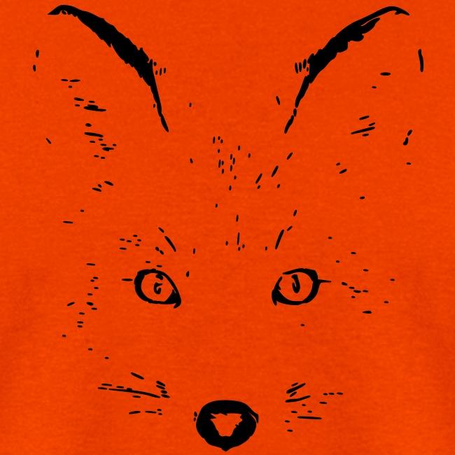 animal t-shirt fox jackal coyote wolf eyes shape