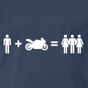 Motorcycle Funny Tshirt - Men's Premium T-Shirt