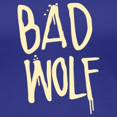 Doctor Who: Bad Wolf Womens Shirt